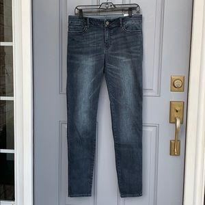 Mid-rise Skinny Grey Jeans